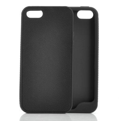 Soft Rubber iPhone 5 Case Black