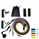 Pull Rope Fitness Exercises Resistance Bands Latex Excerciser Body Training Rope 11pcs/set