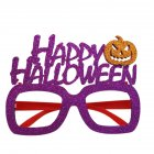 Pumpkin Witch Hat Shaped Glasses Frame for Halloween Children's Party Decoration Festival Supplies