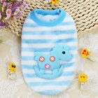 Puppy Pet Dog Cat Clothes Cute Cartoon Animal Patterns Fall Winter Warm Sweater Tops Vest Trojan horse_4