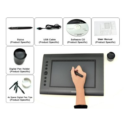 USB Drawing Tablet - Huion H610