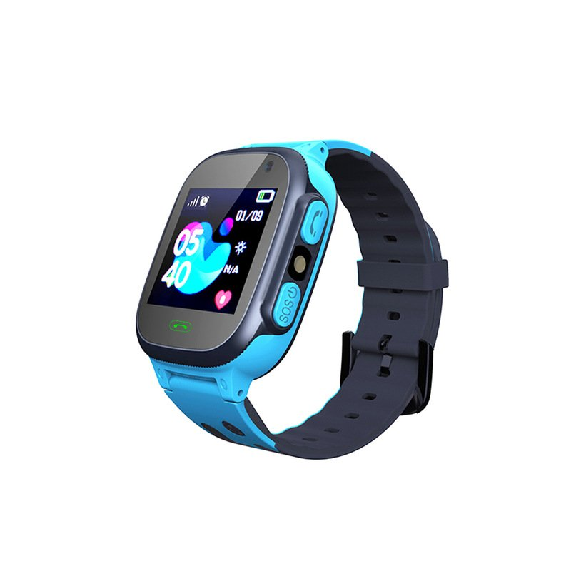 Q15 Kids Smart Watch Children SOS Antil-lost Waterproof Smartwatch 2G SIM Card Clock Location Tracker Watch Blue