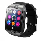 Q18 Smartwatch Phone   Bluetooth Wrist Watch with Camera TF SIM Card Slot For Android Samsung iPhone