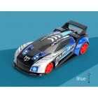 Q89 1:20 Remote Control Car Four-wheel Drive Racing Car with Light and Music blue