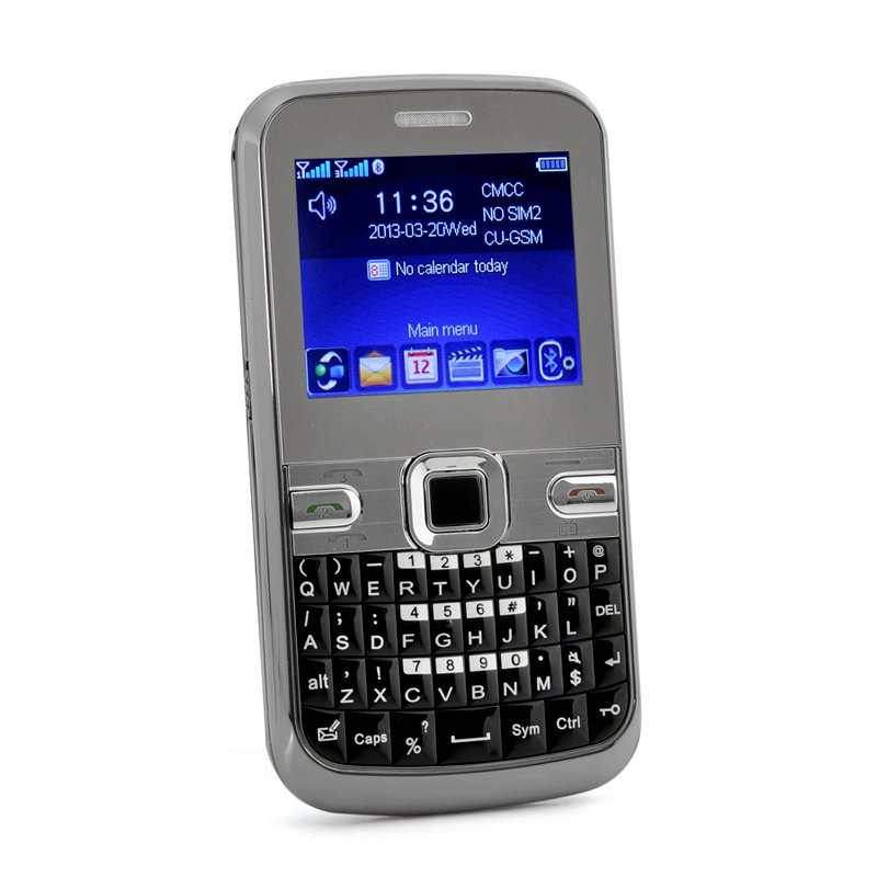 3 SIM Card Slot QWERTY Cell Phone - TriZone