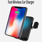 Qi Vehicle Wireless Phone Charger makes it quick and effortless to charge all your Qi compliant devices such as Apple iPhone and Samsung smartphone devices