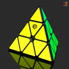 Qiyi XMD V2 Magic Cube Magnetic Pyraminx Magic Cube Smooth Speed Cube black