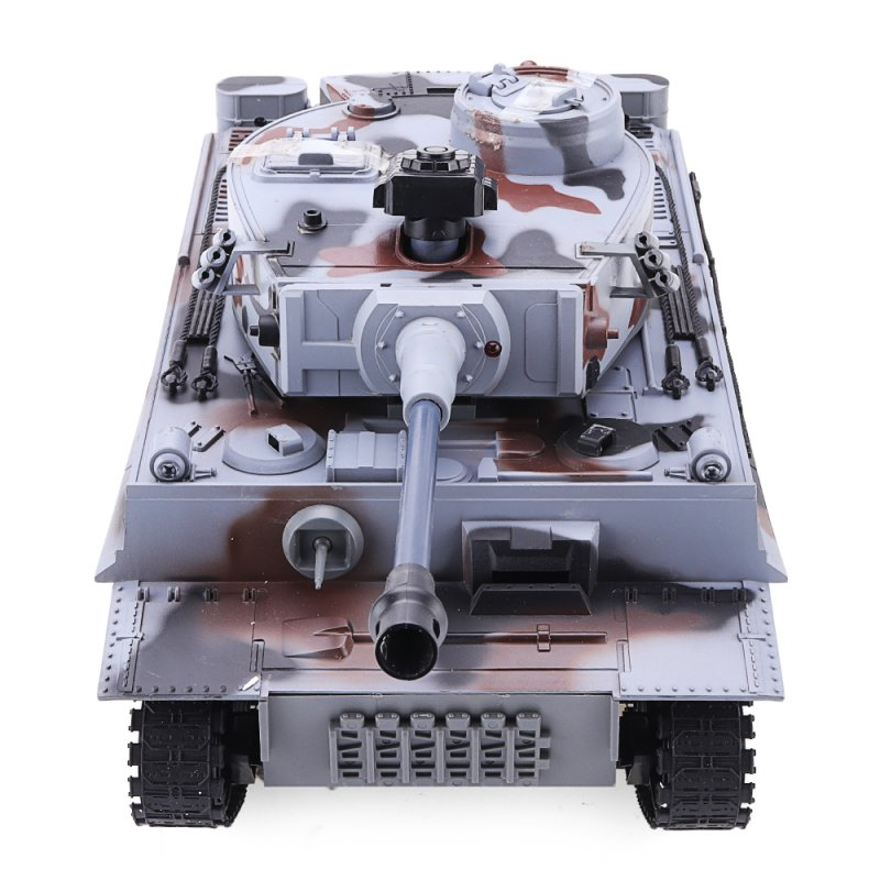 RBR/C 1/18 2.4G Germany Tiger Battle RC Car Vehicle Models gray