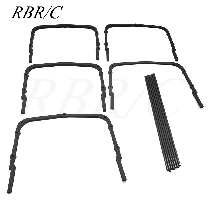 RBR/C WPL D12 High Railing Fence Shed Shack for Drift RC Car R489 High railing