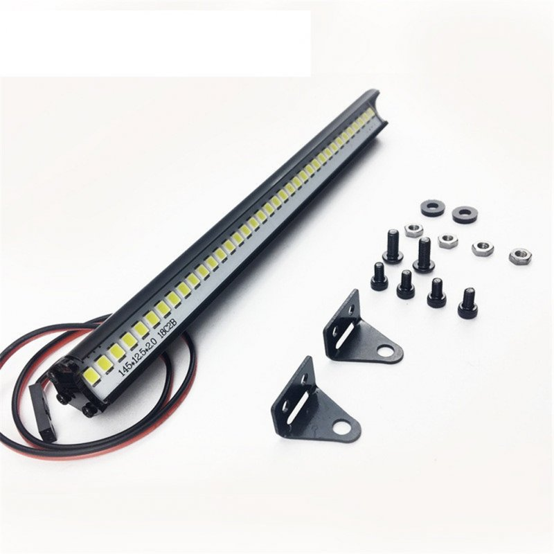 RC Car LED Light Bar 36 Leds for Trx4 Axial SCX10 90046 D90 Body RC Rock Crawler Truck Body Shell Roof Lights Universal