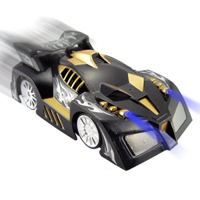 Surface Climbing RC Car with Lights (Black)
