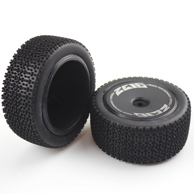 RC Car Wheel For Wltoys 144001 1/14 4WD High Speed Racing RC Car Vehicle Models Parts a pair_Rear tires