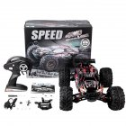 RC Car X-03 2.4G 1/10 4WD Brushless High Speed 60KM/H Big Foot Vehicle Models Truck Off-Road Vehicle Buggy RC Electronic Toys RTR red