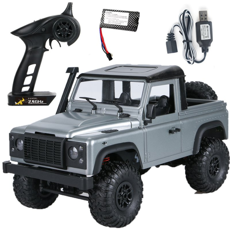 RC Cars MN 99S-A 1:12 4WD 2.4G Radio Control RC Cars Toys RTR Crawler Off-Road Buggy For Land Rover Vehicle Model Pickup Car Single battery