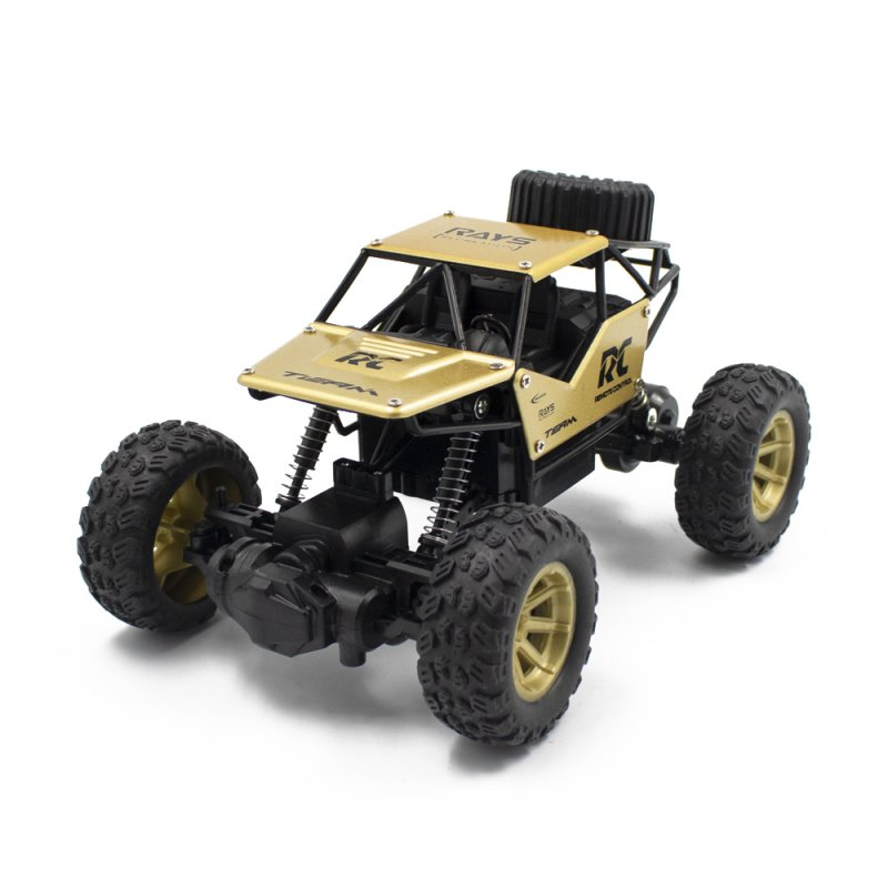 RC Cars on the Control Panel Climbing Off-Road Remote Control Car Toys RC Buggy Radio-Controlled Machine Gold
