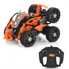RC Customizable 6 Wheeled Car uses 2 4GHz Frequency to be able to reach distances of 80 to 100 Meters