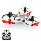 RC Mini UFO Tricopter has 6 Axis Gyro and is controlled using 2 4GHz frequency with 4 Channels