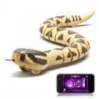 RC Rattlesnake that uses 2 4GHz Frequency and it provides Bluetooth control from Android or IOS devices