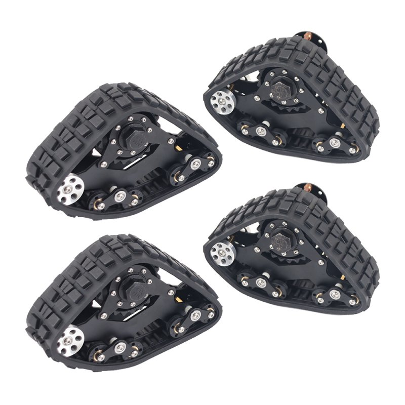 RC Tracks Wheel Sandmobile Conversion Snow Tire for 1/10 SCX10 D90 Car Remote Control Device Accessories 4pcs