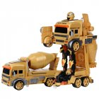 RC Transform Car Robot Toy Dump Truck Excavator Gesture Remote Control Gift Toys for Kids Toys for Boys GW130 VS Dropship  Cement truck