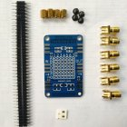 RF Demo Kit for NanoVNA VNA RF Test board Vector Network Test Filter Attenuator blue