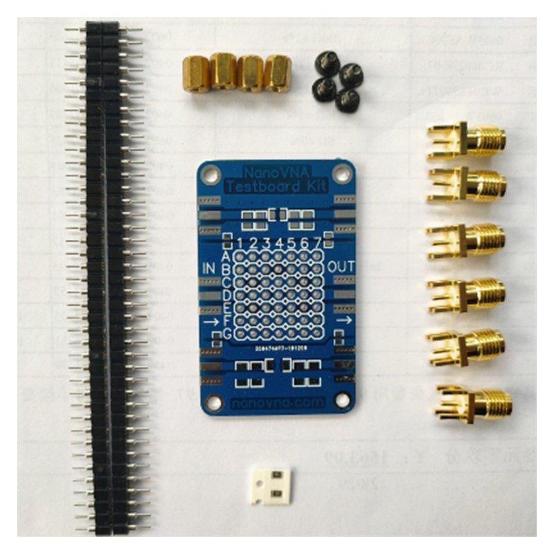 RF Demo Kit For NanoVNA RF Test board Vector Network Test Filter Attenuator US