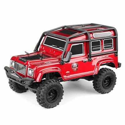 RGT 136240 RC Car V2 1/24 2.4G 4WD 15km/h Radio Control RC Rock Crawler Off-road Vehicle Models Toys Gifts Red