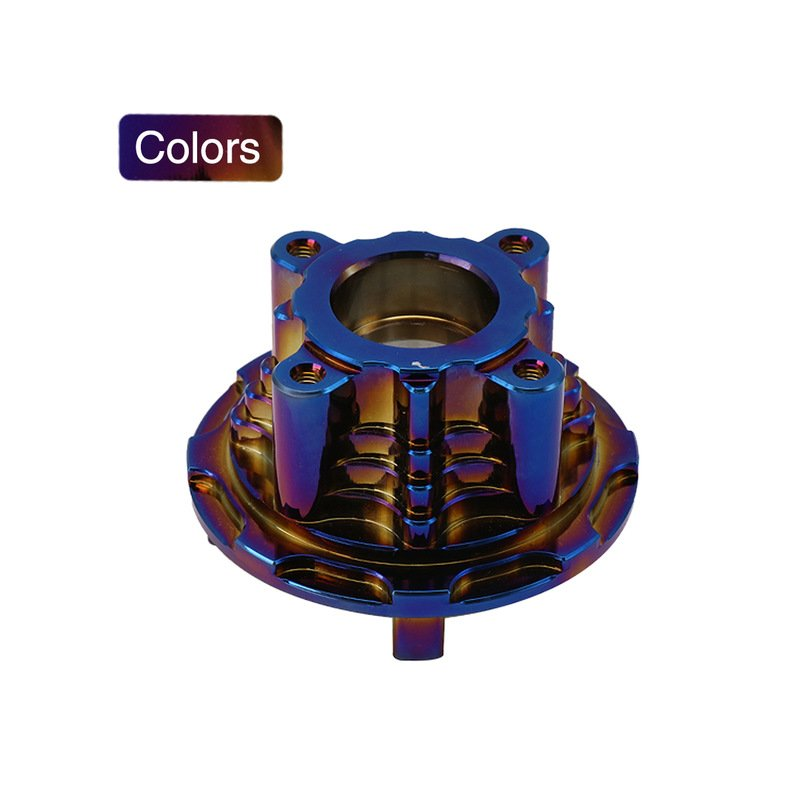Racing Motorcycle Spare Part Sprocket Seat For Yamaha LC135 CNC Motor Accessories Blue gold plated