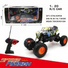 Radio controlled Cars Toys Four Way 1 20 Racing Graffiti Remote Control Car Model off road Vehicle Toy Frame