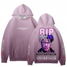 Rapper XXXTENTACION Korean Hoodie Hooded Long Sleeve Printing Tops B picture_M