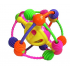 Rattle and Roll Ball Colorful Grab Big Shake Spin Ball Infant for 0 to 36 Months Baby