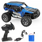 Rc  Car Remote Control High Speed Vehicle 2.4ghz Electric Toy Model Gift 680 blue