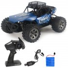 Rc  Car Remote Control High Speed Vehicle 2.4ghz Electric Toy Model Gift 671 blue
