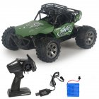 Rc  Car Remote Control High Speed Vehicle 2 4ghz Electric Toy Model Gift 671 green