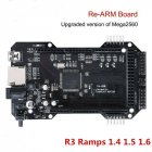 Re Arm 32 Bit Micro controller  Ramps 1 4 1 5 1 6 Plus Mega 2560 R3   3D Printer black