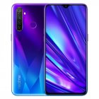 Realme Q 6.3in Full Screen R 5 pro 8+128 GB Snapdragon 712AIE Octa Core Waterproof Super VOOC 2340×1080 5cameras 48MP Face+Fingerprint ID blue