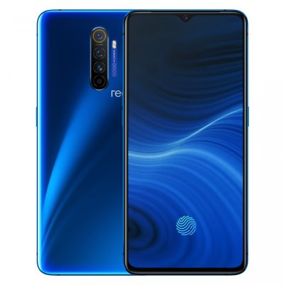 Realme X2pro 8+128 6.5 inches 4000mAh Battery Mobile Phone Qualcomm SDM855 Snapdragon 855+ (7 nm) Octa Core blue
