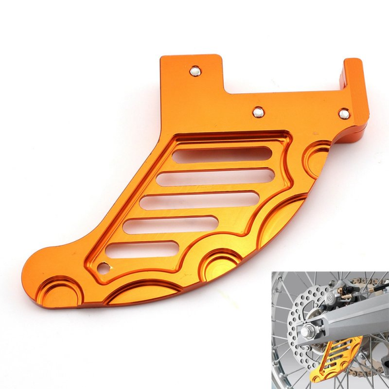 Rear Brake Disc Guard Protector for KTM 125 250 350 450 525 530 SX SX-F EXC MXC XCW Orange