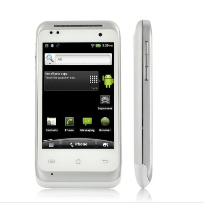 White Android 2.3 Phone