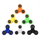 Reduce stress and look cool with this pack of 6 different color hand spinners that have built in LED lights