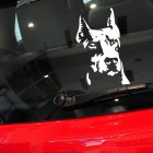 Reflective Dog Pattern Decal Car Sticker