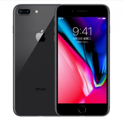 Refurbished iPhone 8 Plus 64G phone UK-Gray