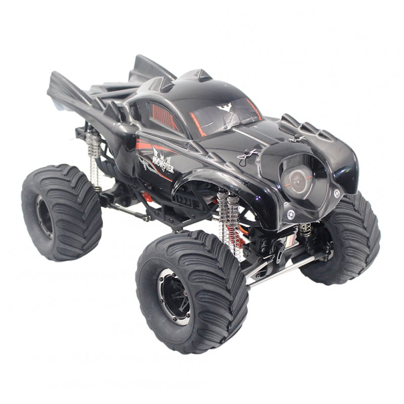 Remo Hobby 1096T 1/10 2.4G 4WD Waterproof Brushed Rc Car Off-road Rock Crawler The  Truck RTR Toy black
