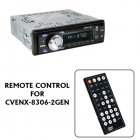 Remote Control for CVENX 8306 2GEN Car DVD Player