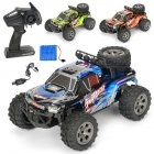 Remote controlled car Remote control furious 1:18 Scale RC Car 4D Off Road Vehicle 2.4G 20km/h Radio Remote Control Car Color blue