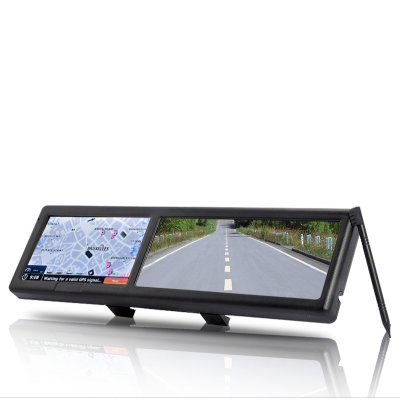 4.3 Inch Rearview Mirror with GPS