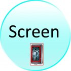 Replacement Screen for CVFD M126 AndyWarhol   Touchscreen China Mobile Media Phone