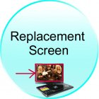 Replacement Screen for CVIB E21 Portable Multimedia DVD Player with 12 Inch Widescreen