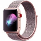 Replacement Sport Nylon Woven Band for Apple Watch Series 4 40mm/44mm light pink_40mm