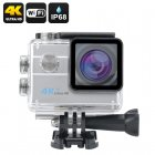 4K Wi-Fi Waterproof Sports Camera (Silver)